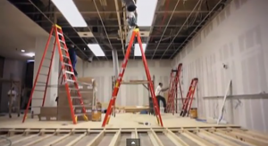 Videó: még a pop-up Apple Store-t is nagy profizmussal építették fel