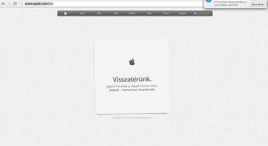 Bezárt az Apple Store: Online pár óráig most nem lehet venni semmit