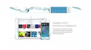 Átverés: az iOS7-től nem lesz vízálló semelyik iPhone