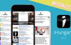Elérhetővé vált az új iHungary alkalmazás az iOS eszközökre!