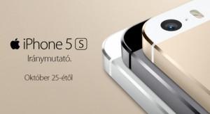 Korlátozott mennyiségű iPhone 5S és 5C készüléket kapott a Telekom