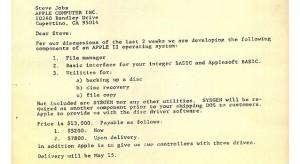 Múzeumban állították ki az Apple egyik legrégibb operációs rendszerének forráskódját