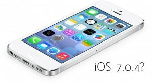 Készül az iOS 7.0.4?
