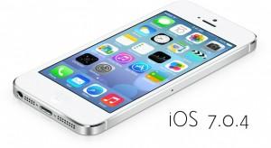 Megjelent az iOS 7.0.4