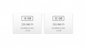 Jelentősen javult az iPhone 5S szállítási ideje