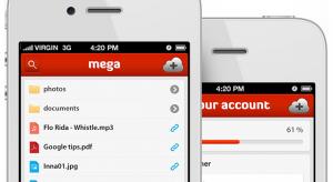 Már iOS-en is elérhető a Kim Dotcom-féle Mega felhőszolgáltatás
