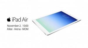 StarKing Alle Premier: Megérkezett az iPad Air!