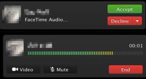 A FaceTime audio megjelent az OS X 10.9.2. bétájában