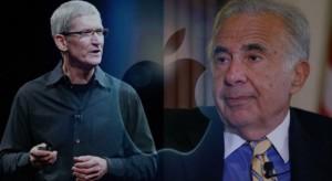Carl Icahn beleharap az almába