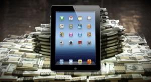 Apple 2014 Q1: 57,6 milliárd dolláros rekord bevétel