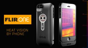 Hőkamerával szerelték fel a Flir One iPhone-tokot