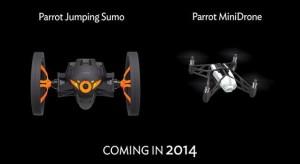 CES 2014: A Parrot új robotokat mutatott be