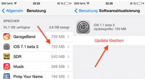 iOS 7.1 beta 3: letörölhető a legújabb szoftver