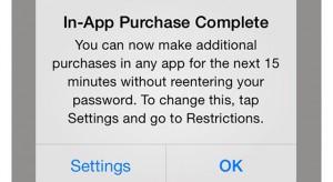 Módosult az alkalmazáson belüli vásárlás a 7.1-ben