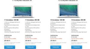 Breaking: jelentős árcsökkenéssel érkeztek meg az új MacBook Air modellek