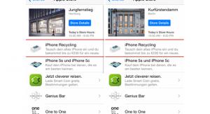 Már Németországban is elérhető az iPhone-csereprogram