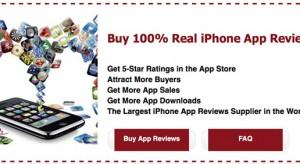 Az Apple vadássza a hamis App Store értékeléseket