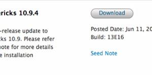 Megjelent az OS X 10.9.4 legújabb bétája