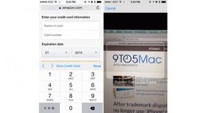Könnyedén felismeri majd a bankkártyánkat az iOS 8-as Safari