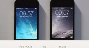 Egyáltalán nem lassabb az iPhone 4S az iOS 8 alatt