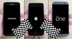 Sebesség teszt: a Galaxy S5, az iPhone 6 és a HTC One M8 csatája