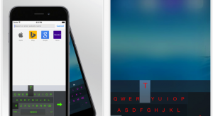 Egykezes billentyűzet az iPhone 6 és 6 Plus tulajok számára