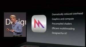 A Metal tovább növelheti az Apple előnyét a mobilgaming területén