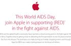 Ismételten az AIDS ellen jótékonykodik az Apple