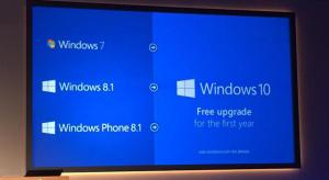 Ingyenesen upgradelhető lesz a Windows 10