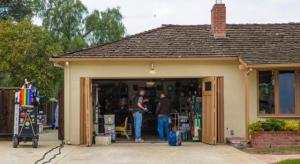 Steve Jobs garázsában kezdődött meg a forgatás
