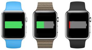 Újabb információk az Apple Watch üzemidejéről
