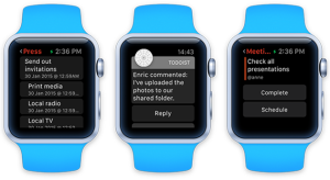 Ilyen lesz a Todoist Apple Watch-on
