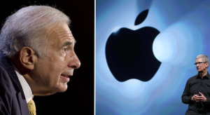 Carl Icahn egy billió fölé értékeli az Apple-t