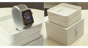 Újabb kiszivárgott képeken az Apple Watch és a szíjak csomagolása