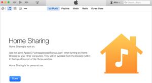 Az iOS 8.4 videókra limitálja a Home Sharing funkciót