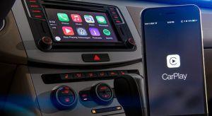 Az első CarPlay-kompatibilis Volkswagenek már megérkeztek a szalonokba