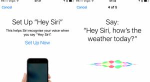 """Új funkció az iOS 9-ben: """"Hey Siri"""""""