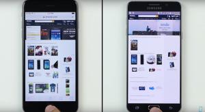 Simán veri a Galaxy Note 5-öt az iPhone 6s