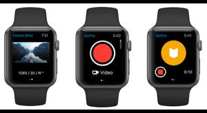 Apple Watch támogatást kapott a GoPro