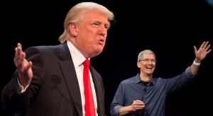 Donald Trump korlátozná az Apple-t