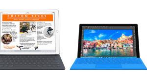 Továbbra is az iPad vezet, miközben az új Surface Pro 4 sehol sincs