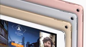 A 9,7 colos iPad Pro lehet a csökkenő tablet piac megmentője