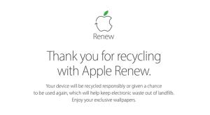 Nagyszerű háttérképekkel hívja fel az újrahasznosításra a figyelmet az Apple