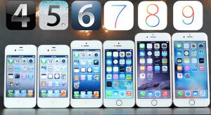 Így teljesítenek az eredeti iOS verziók a legújabbakhoz képest