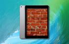 Téglává változtatott néhány iPad Prót a 9.3.2-es frissítés
