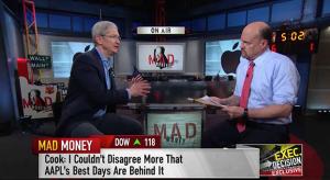 Tim Cook a Q2-es pénzügyi konferenciáról: túlságosan túlreagálta a Wall Street