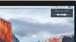 Kiszivárgott képek bizonyítják Siri eljövetelét OS X 10.12-re