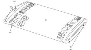 Új szabadalom a 360 fokos kijelzővel szerelt iPhone-ról