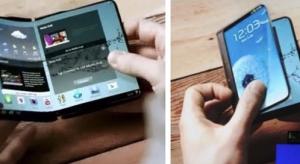 Teljesen hajlítható okostelefont mutat be jövőre a Samsung