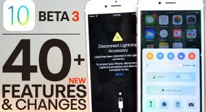 Negyvennél több új funkciót pakoltak az iOS 10 beta 3-ba
